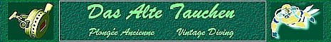 Informationen zur Tauchgeschichte, Tauchtechnik, Entwicklung des Sporttauchens und zu Tauchreisen, Bereitstellung von technischen Unterlagen, Tauchen mit Zweischlauchreglern,